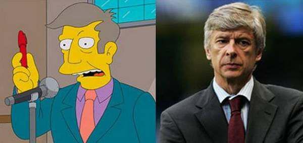 Arsen Wenger Simpsons Karekteris