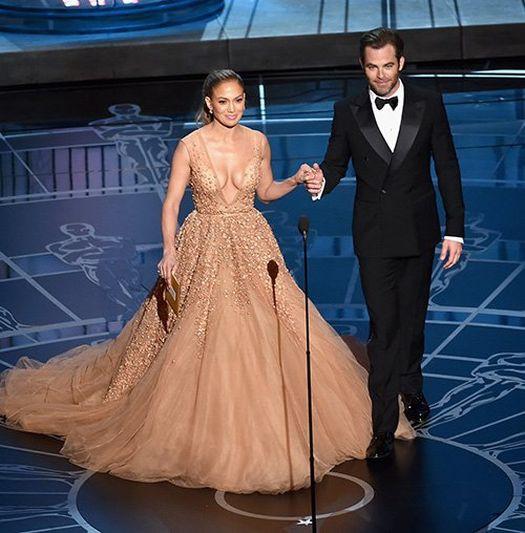 Jennifer Lopez Oskar Ödül Töreni 2015