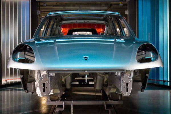 Porsche Cayenne Almanya Fabrikası