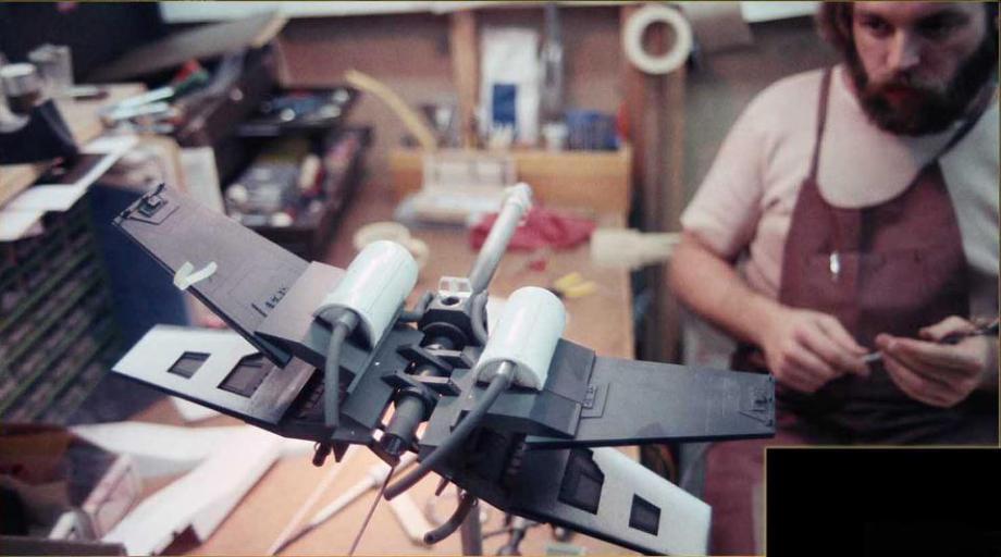 star wars filminde kullanılan modellerin hazırlanması 10