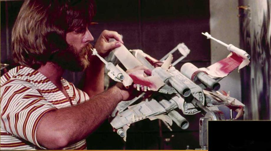 star wars filminde kullanılan modellerin hazırlanması 11