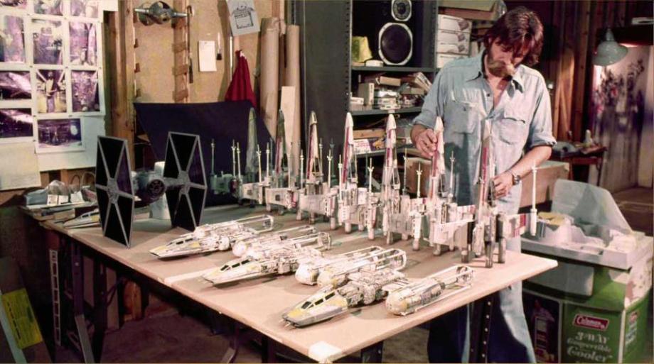 star wars filminde kullanılan modellerin hazırlanması 13
