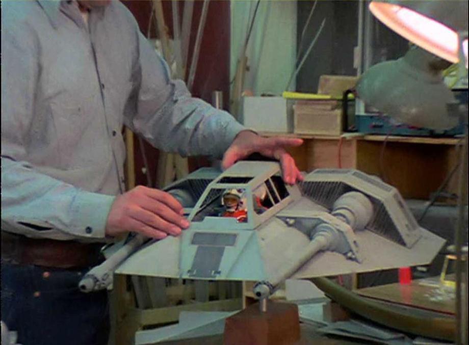 star wars filminde kullanılan modellerin hazırlanması 16