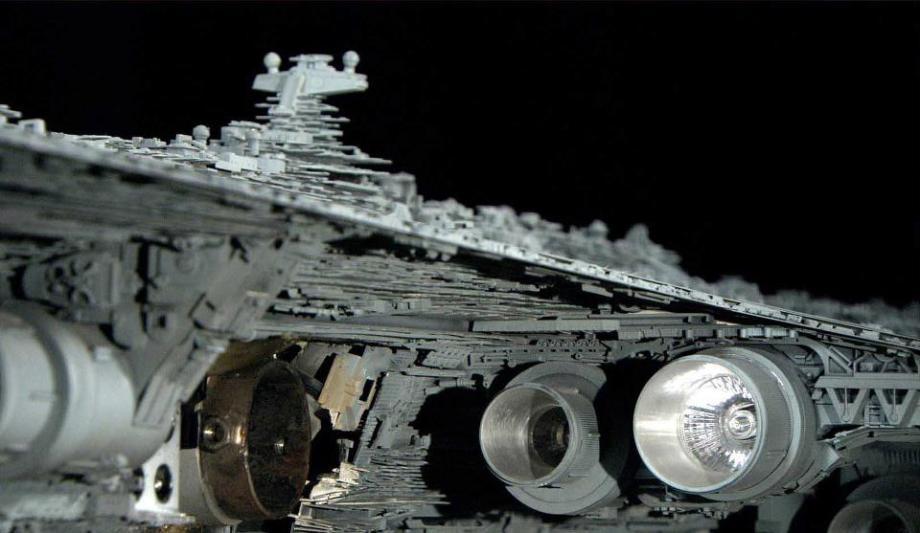 star wars filminde kullanılan modellerin hazırlanması 19
