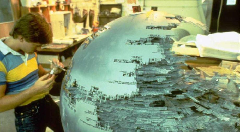 star wars filminde kullanılan modellerin hazırlanması
