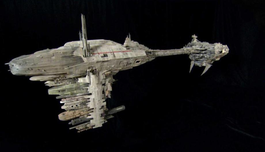 star wars filminde kullanılan modellerin hazırlanması 21