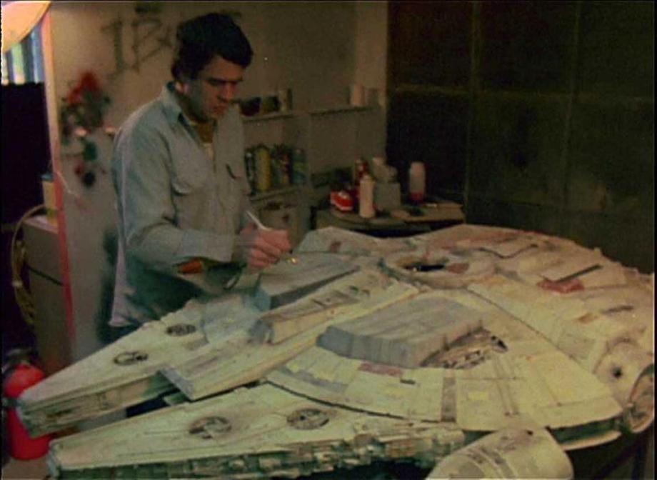 star wars filminde kullanılan modellerin hazırlanması 7