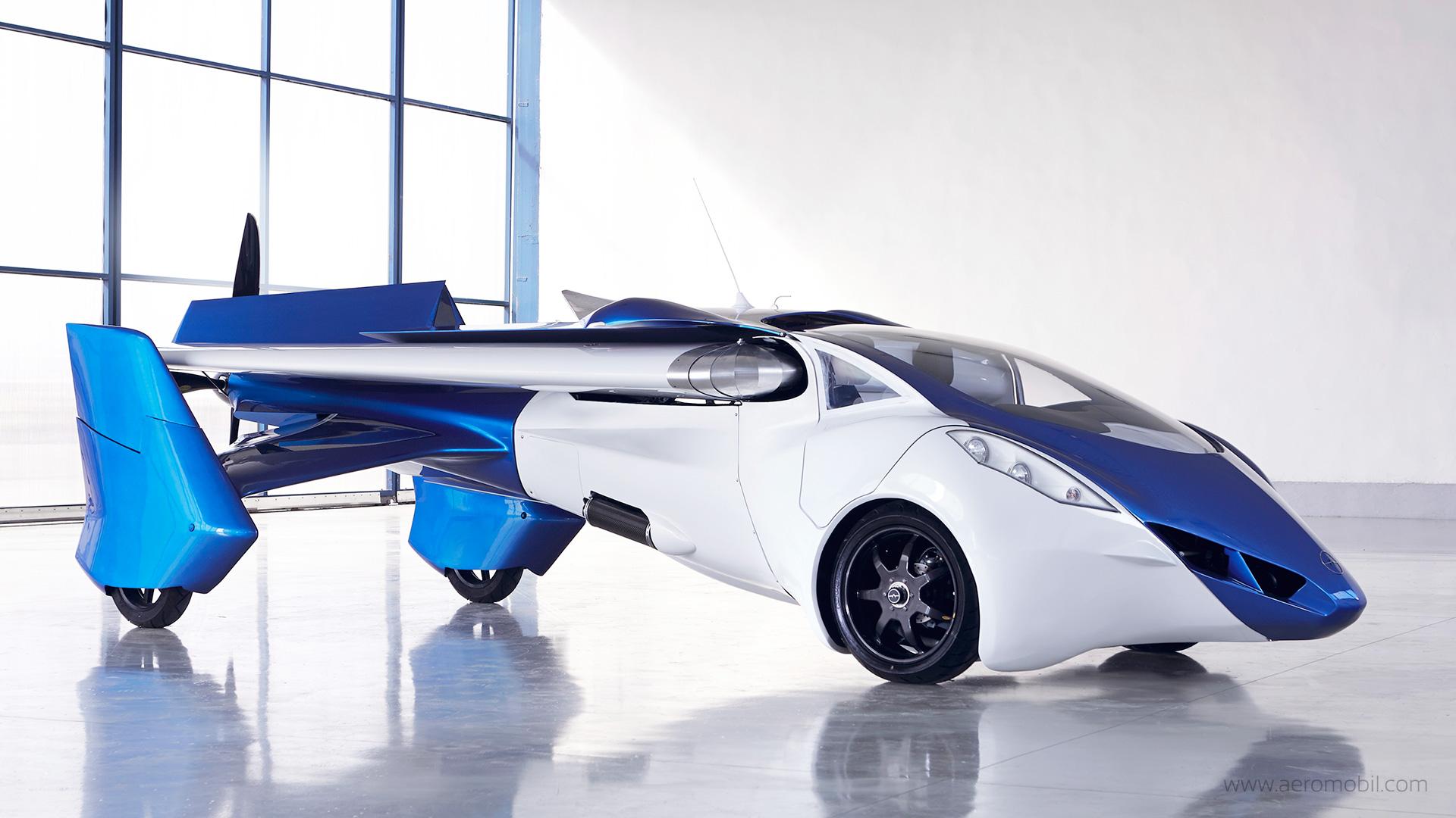 Aero Mobil Uçan Araba