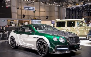 Mansory Continental GT Race