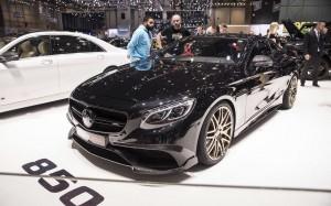 Mercedes Benz Brabus 850 Coupe