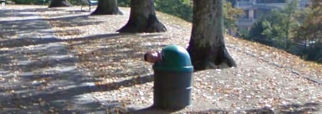 Google Map Kamerasına Yansıyan İlginç Anlar