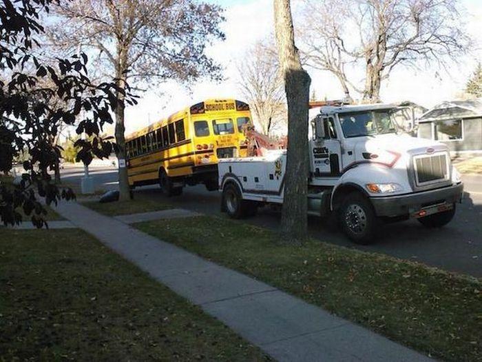 amerikan scholl bus