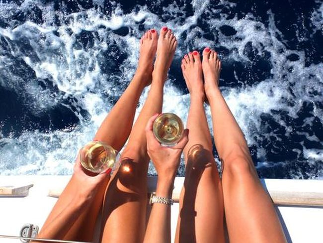bacak ve şarap