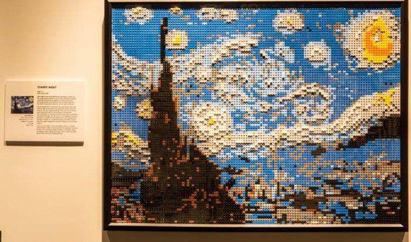 Lego Starry Night