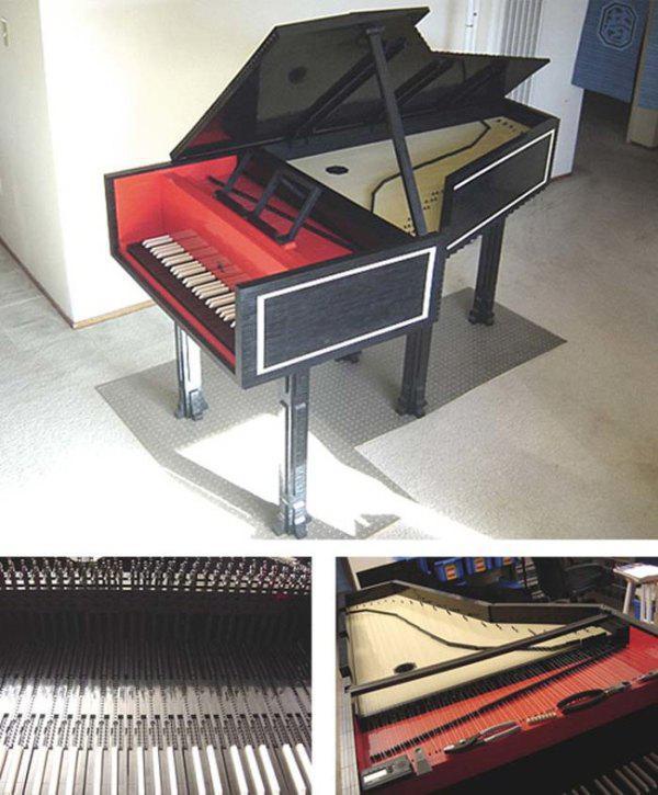 Lego'dan piyano yapımı