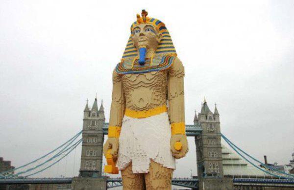 Lego'dan Pharaoh yapımı