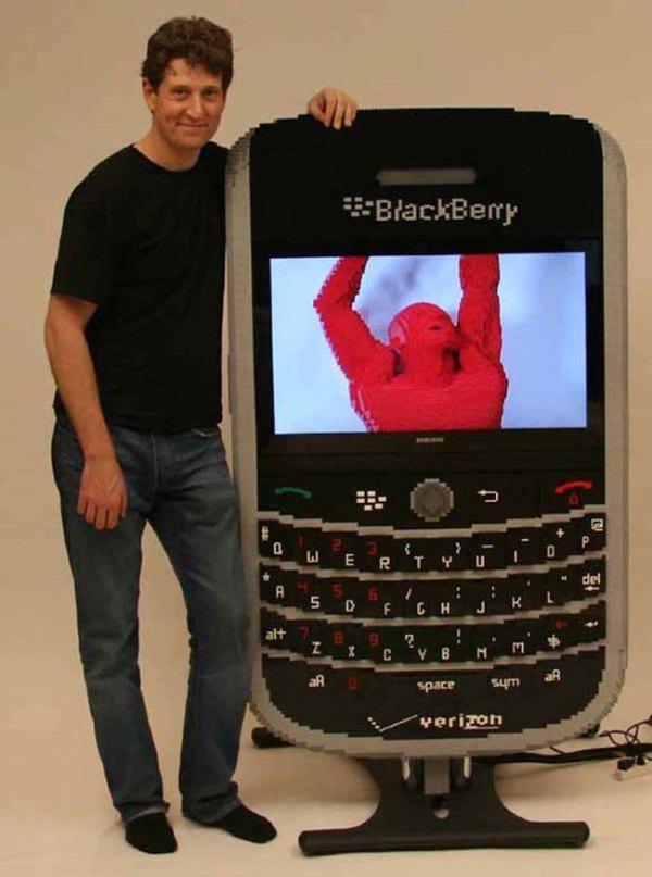 Lego Blackberry