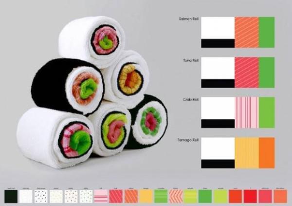 Sushi havlu sarma