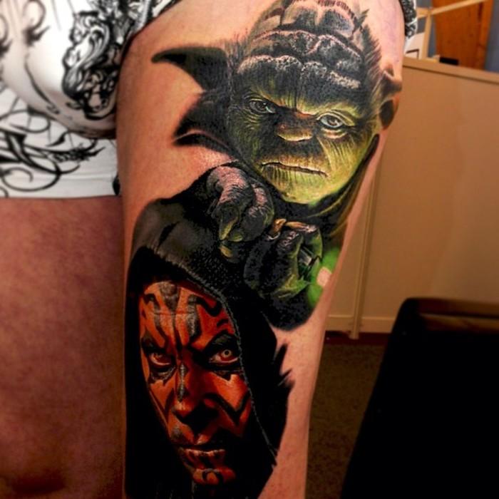 Yoda Star Wars Dövmesi
