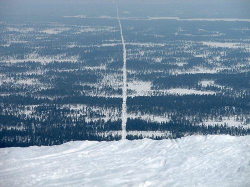 Norveç ve İsveç'i birbirinden ayıran sınır