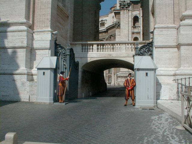 Vatikan ve İtalya Sınırı