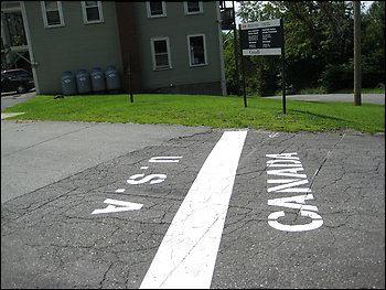 Amerika ve Kanada sınırı