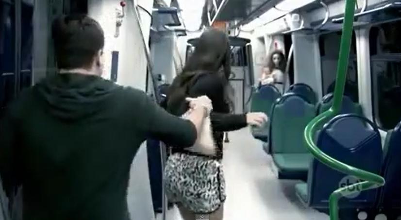 Brezilya Metrosu Şakası