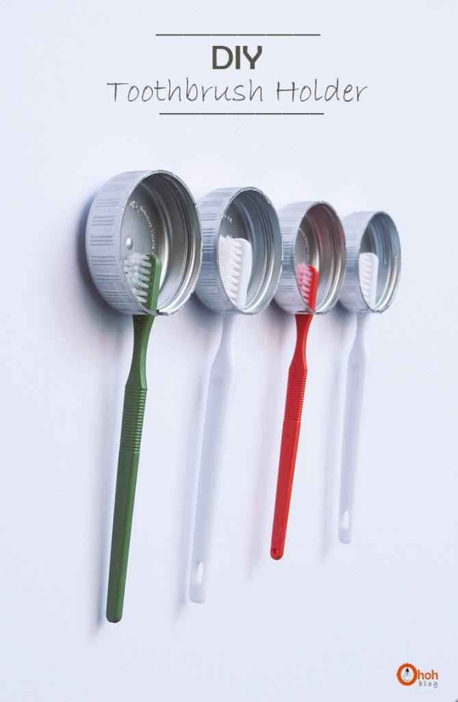 Diş fırçası tutucusu