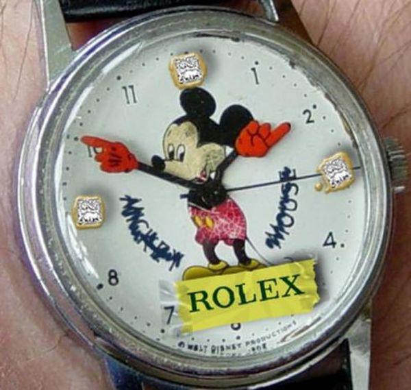 Rolex Çakması Saat