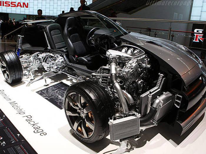Nissan GTR Yarısı