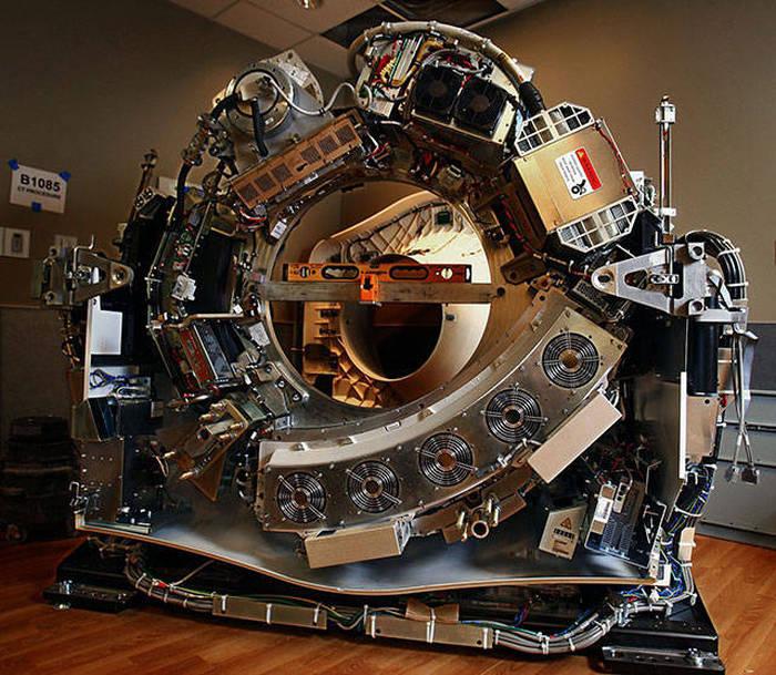 Tomografi Cihazı İçi