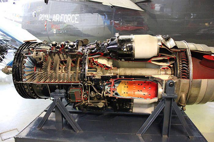 Uçak Motoru İçi