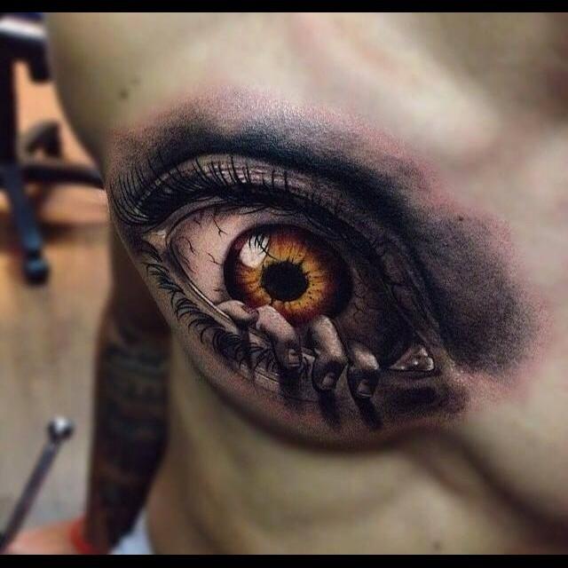 Göz Şeklinde Dövme