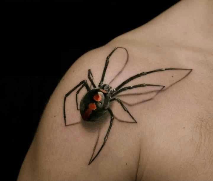 Omza Örümcek Dövmesi