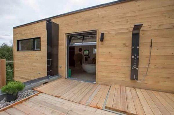 Konteynerlerden İnanılmaz Ev Yapımı