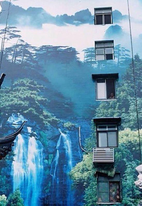 Apartman Duvarını Doğa Gibi Boyamak