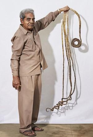 Dünyanın En Uzun Tırnaklı İnsanı Shridhar Chillal