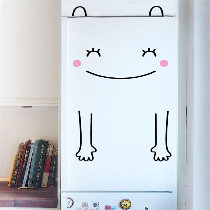 Buzdolabı için Eğlenceli Sticker