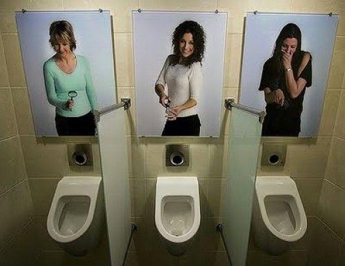 Kadınlara Karşı Pisuvar