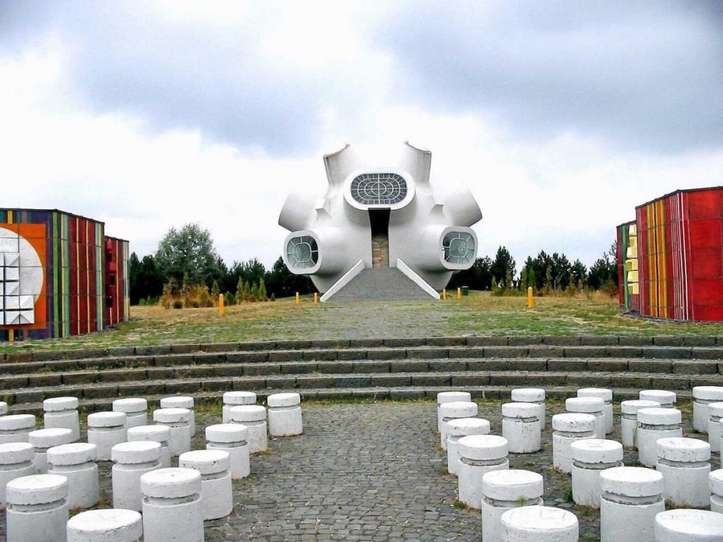 Memorial Osmanlı idaresine, Makedonya'ya karşı ayaklanmayı anmak için.