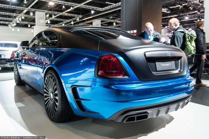 Bentley Phantom Modifiye ve Mavi Araç Kaplama