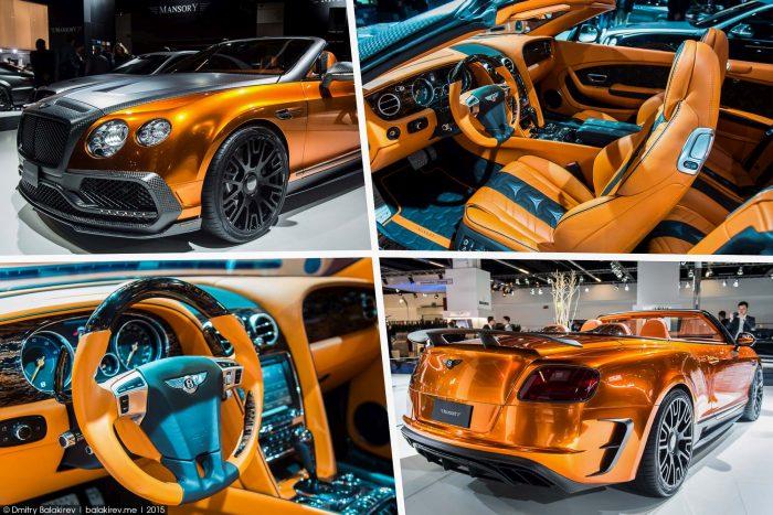 Bentley Modifiye ve Altın Rengi Araç Kaplama