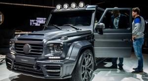 Mercedes G Serisi Araç Kaplama ve Modifiye