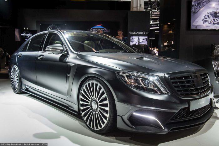Mercedes S Serisi Araç Modifiye