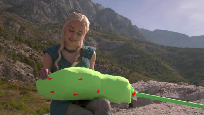Özel Efektler Olmadan Game of Thrones Filmi Çekimleri - Kamera Arkası