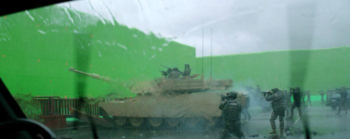 Özel Efektler Olmadan Godzilla Filmi Çekimleri - Kamera Arkası
