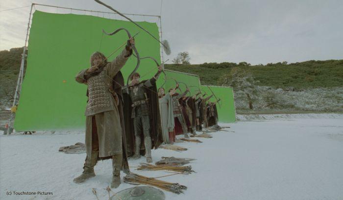 Özel Efektler Olmadan Kral Arthur Filmi Çekimleri - Kamera Arkası