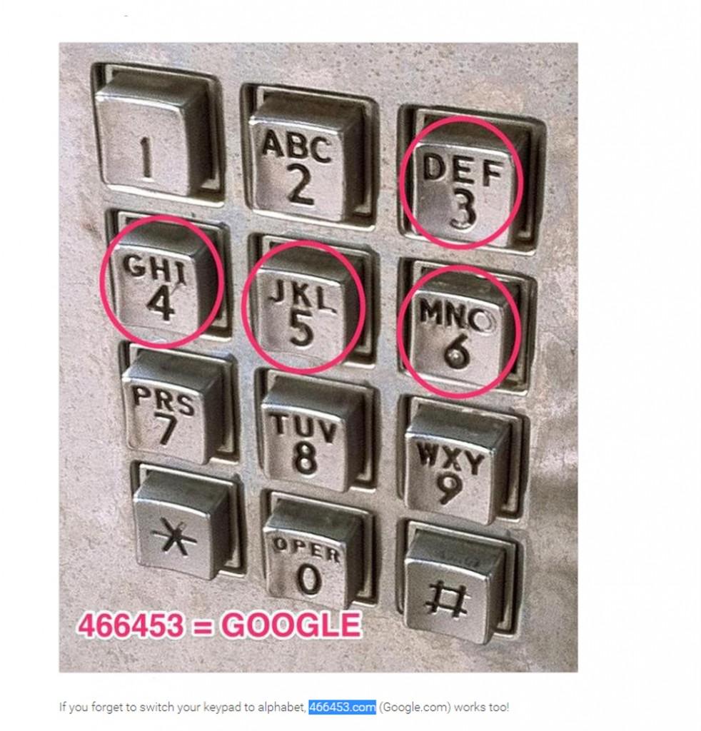 466453 Google.com a yönlendiridiğini biliyormudunuz?