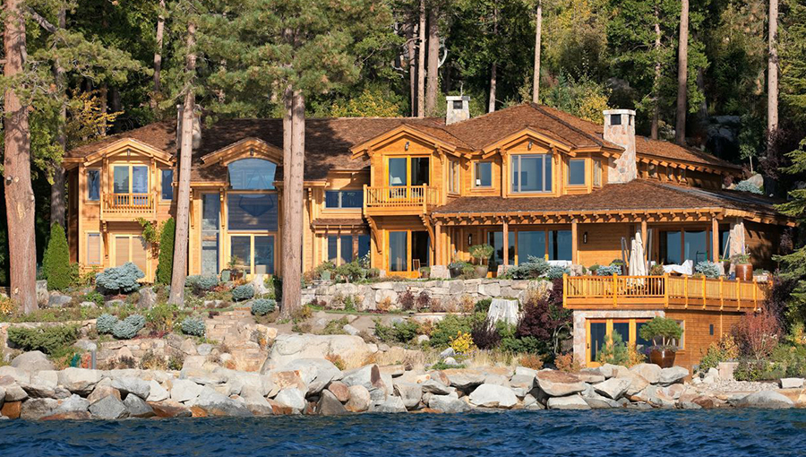 Larry Ellison Hause, worth $43 billion