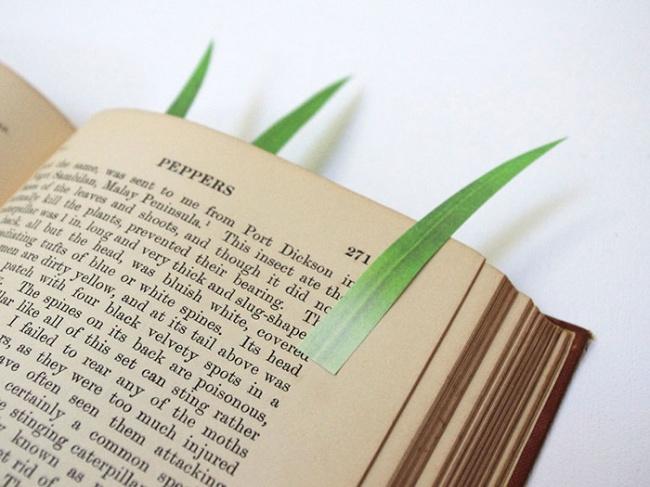 Çimen Şeklinde Kitap Ayracı